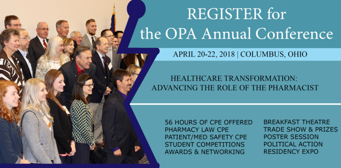 Register for the 2018 OPA Annual Conference