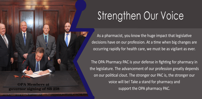 OPA Legislative Successes