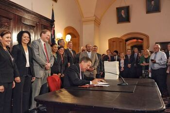 Gov Kasich Signs The Ohio Budget