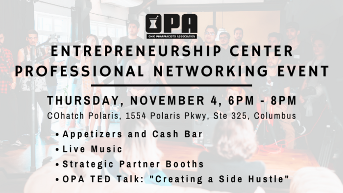 OPA Entrepreneurship Center Professional Networking Event